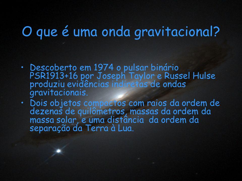 O que é uma onda gravitacional