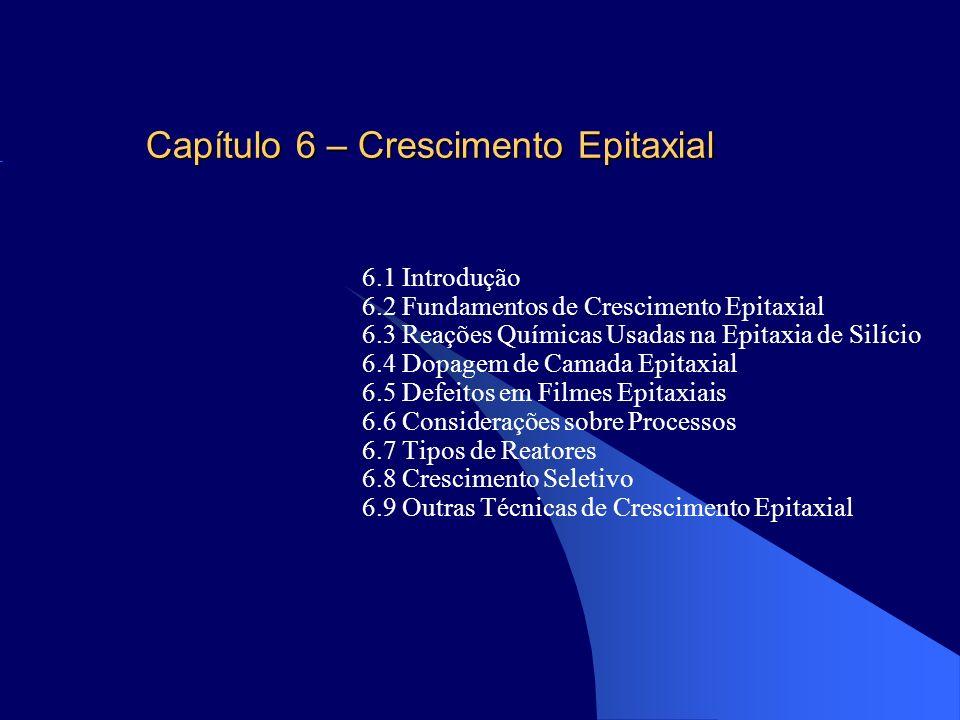 Capítulo 6 – Crescimento Epitaxial