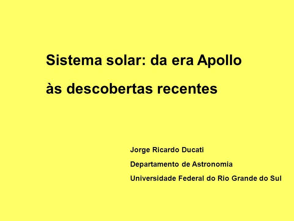 Sistema solar: da era Apollo às descobertas recentes