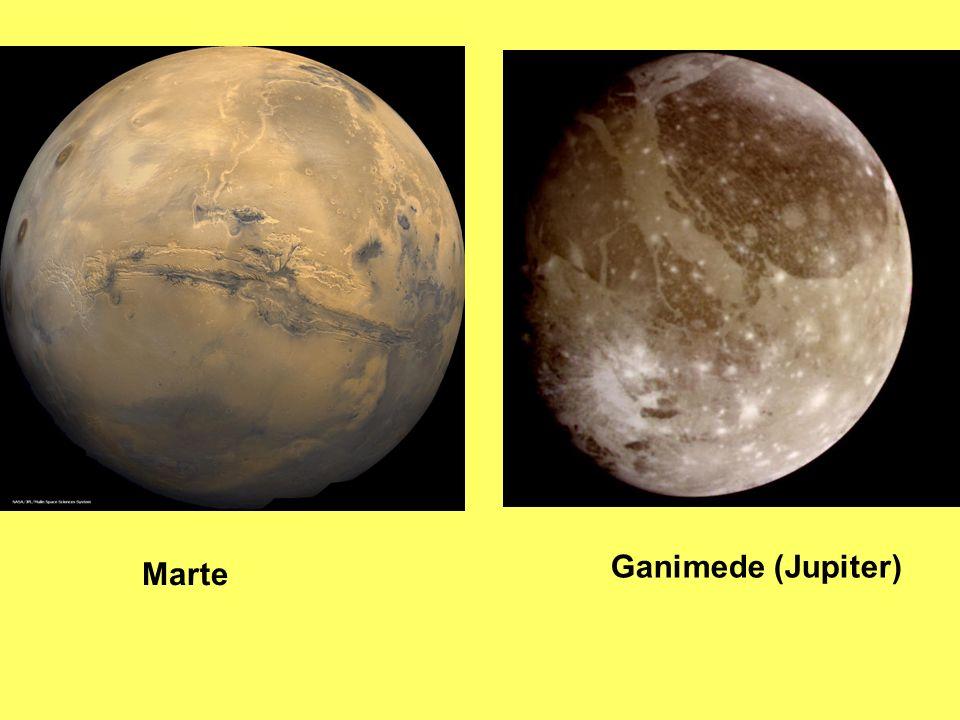 Ganimede (Jupiter) Marte