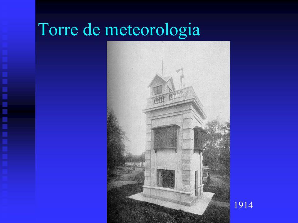 Torre de meteorologia 1914
