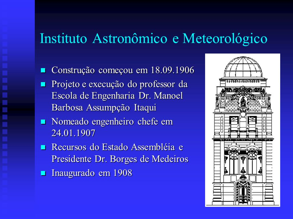 Instituto Astronômico e Meteorológico