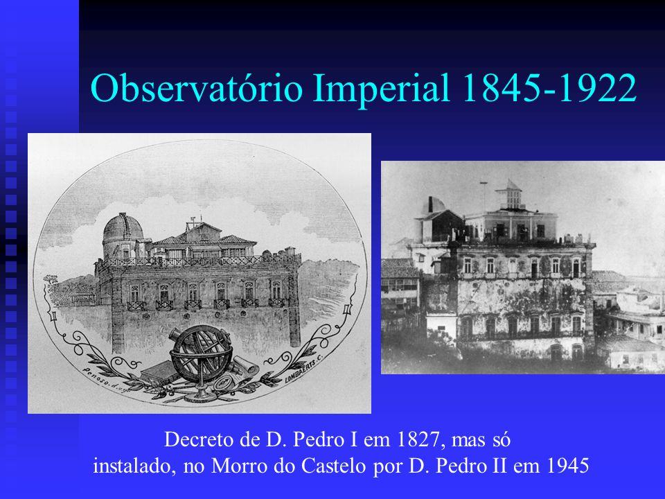 Observatório Imperial 1845-1922
