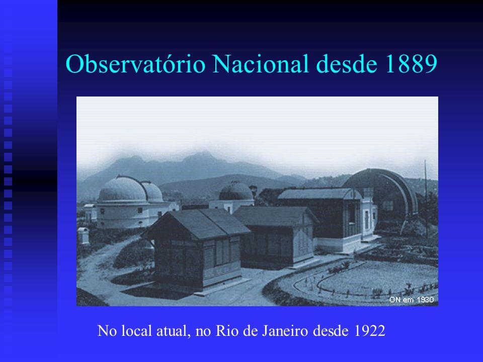 Observatório Nacional desde 1889