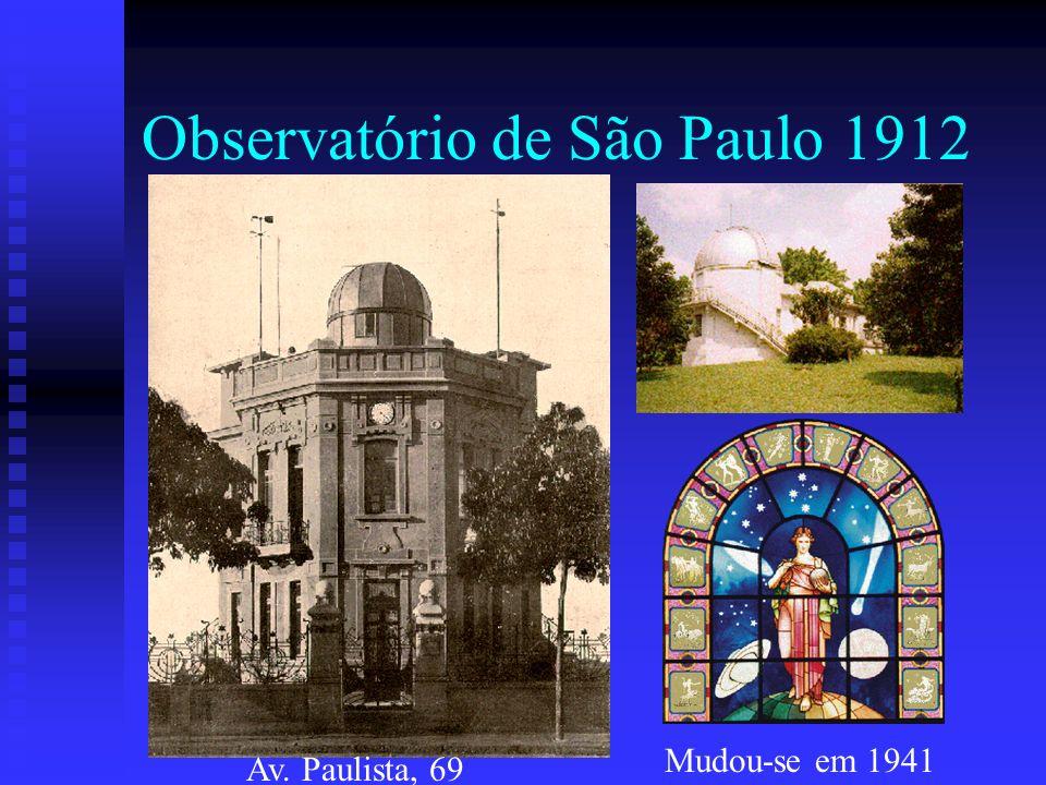 Observatório de São Paulo 1912