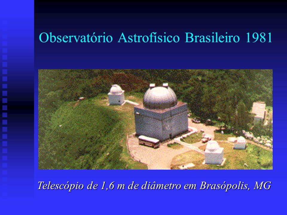 Observatório Astrofísico Brasileiro 1981