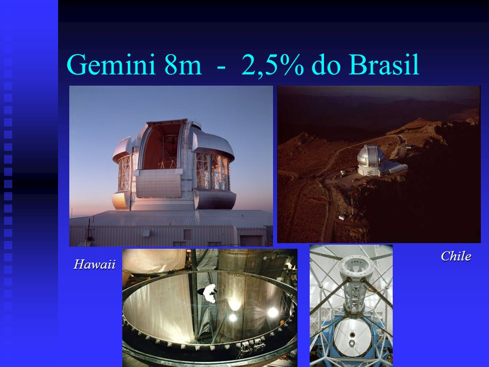 Gemini 8m - 2,5% do Brasil Chile Hawaii