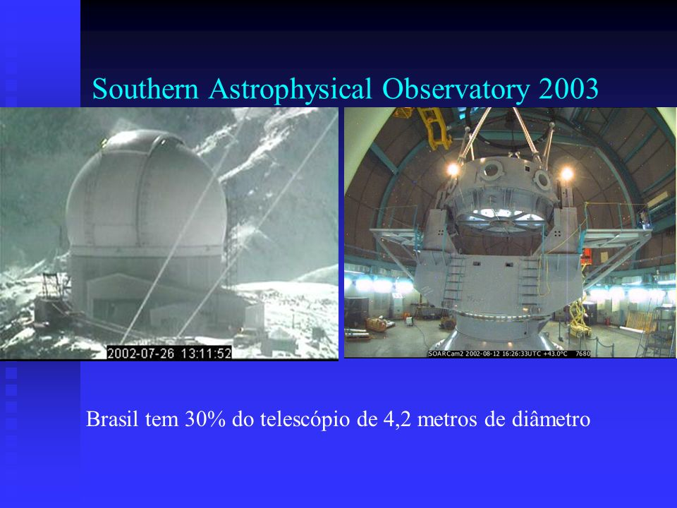 Southern Astrophysical Observatory 2003