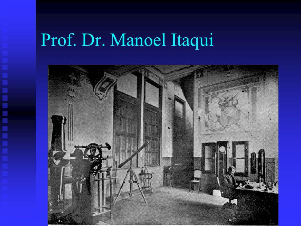 Prof. Dr. Manoel Itaqui