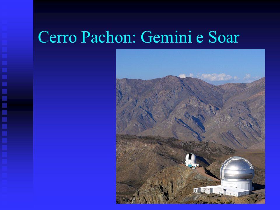 Cerro Pachon: Gemini e Soar