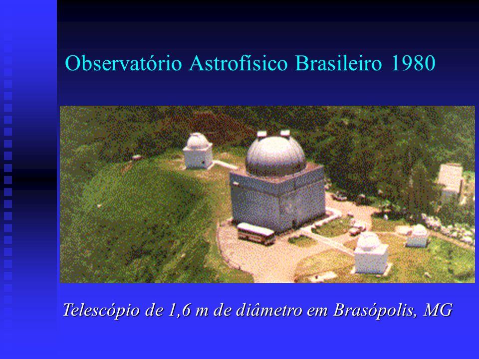 Observatório Astrofísico Brasileiro 1980