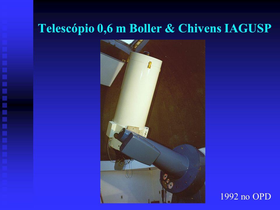 Telescópio 0,6 m Boller & Chivens IAGUSP