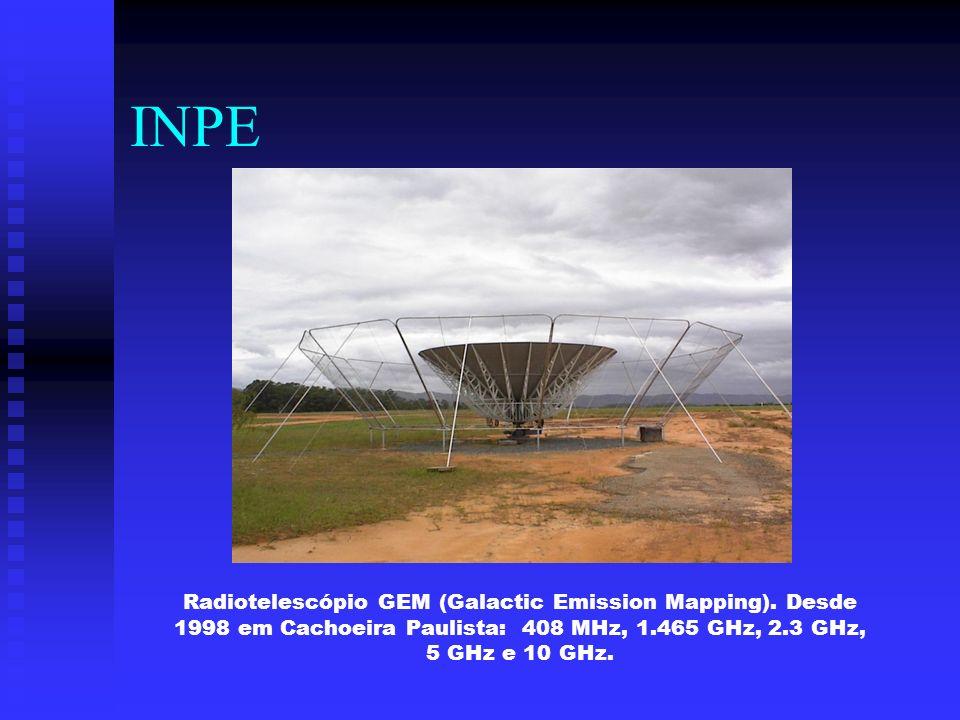 INPERadiotelescópio GEM (Galactic Emission Mapping).