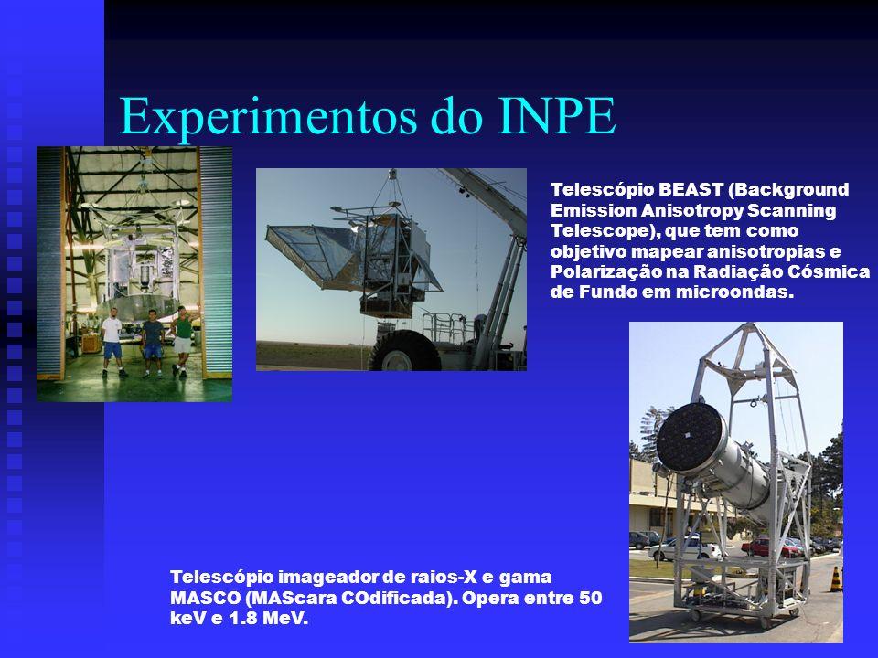 Experimentos do INPE