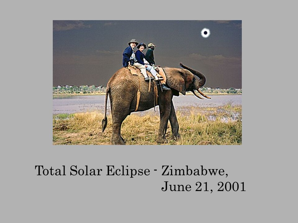 Total Solar Eclipse - Zimbabwe,