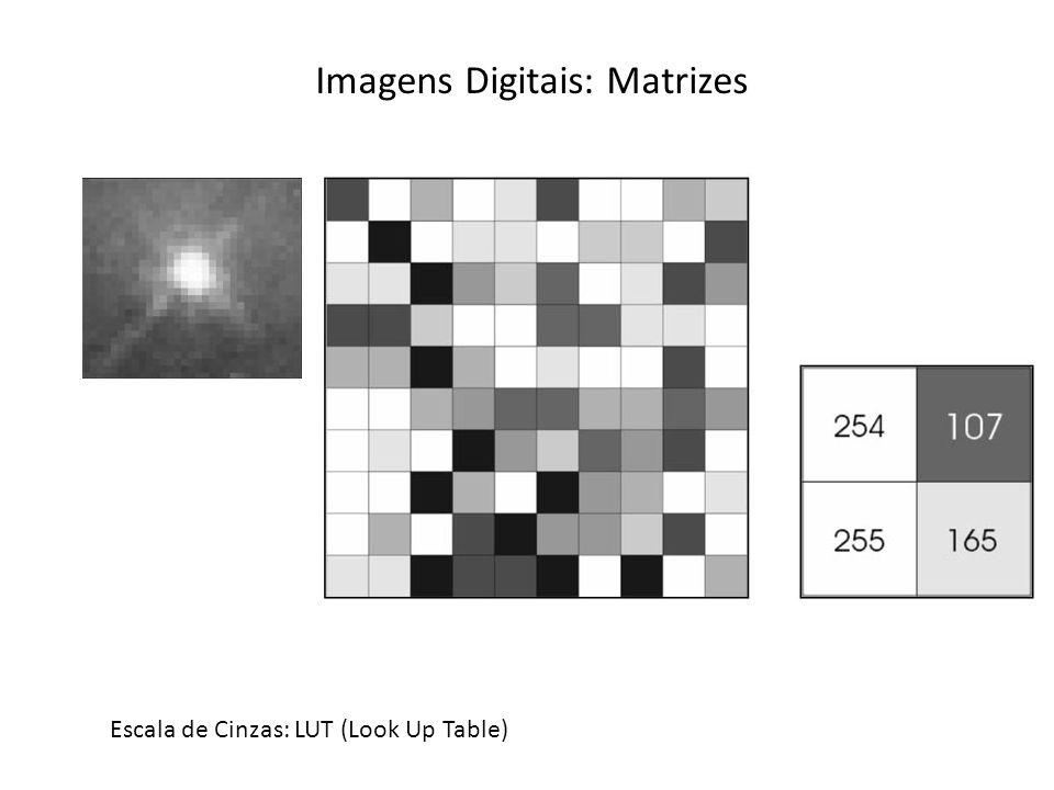 Imagens Digitais: Matrizes