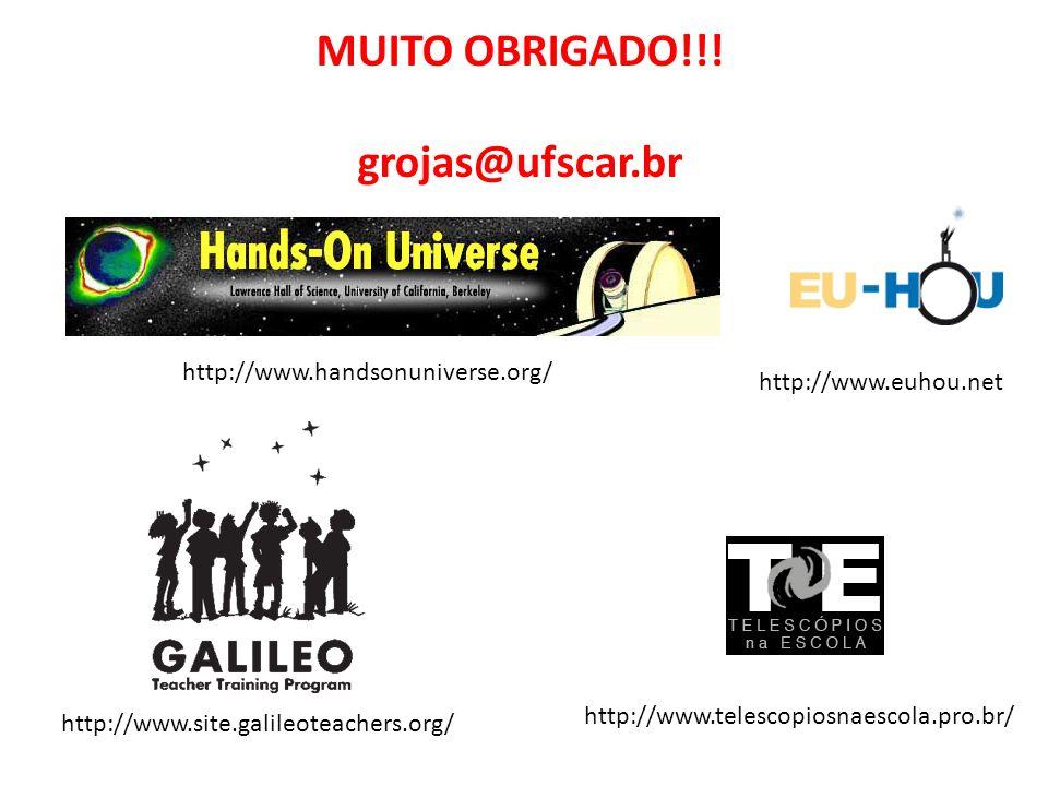 MUITO OBRIGADO!!! grojas@ufscar.br