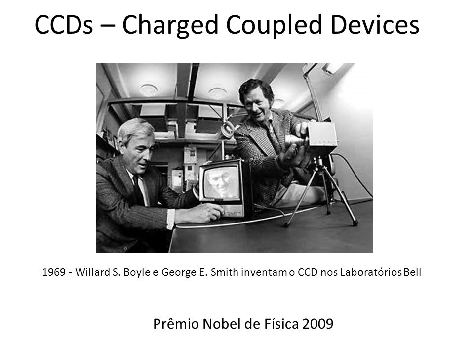 CCDs – Charged Coupled Devices