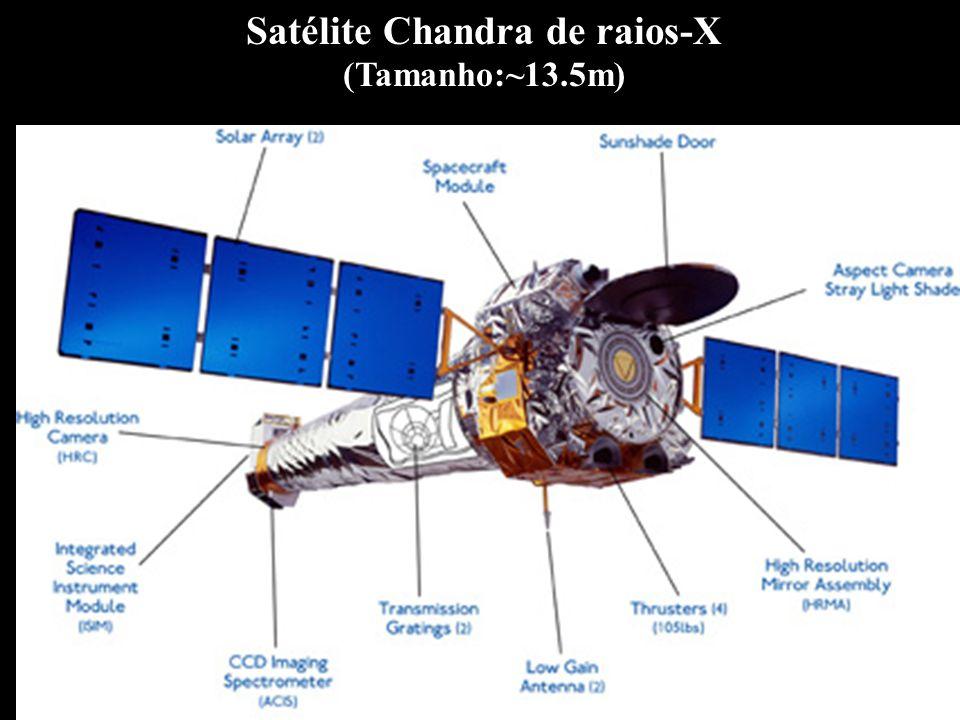 Satélite Chandra de raios-X (Tamanho:~13.5m)