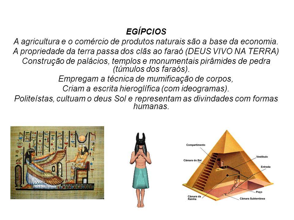 A propriedade da terra passa dos clãs ao faraó (DEUS VIVO NA TERRA)