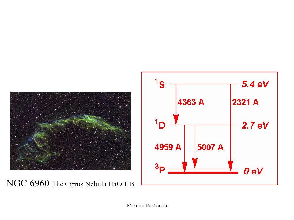 NGC 6960 The Cirrus Nebula HaOIIIB