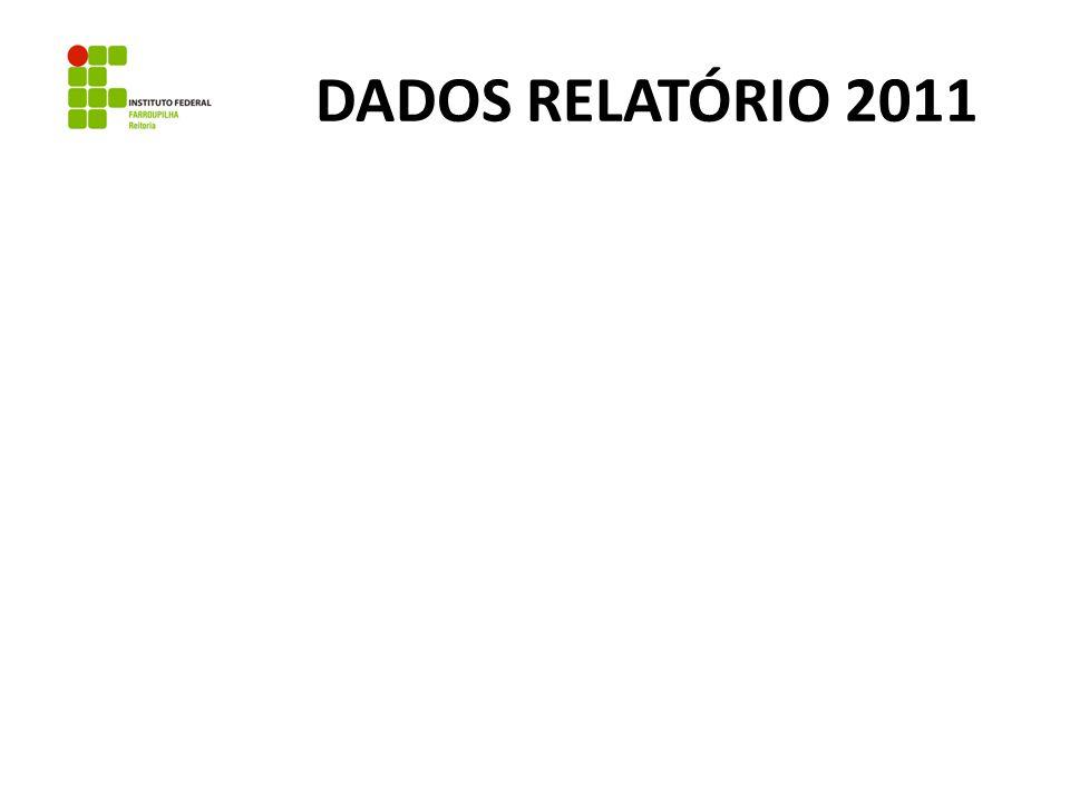 DADOS RELATÓRIO 2011