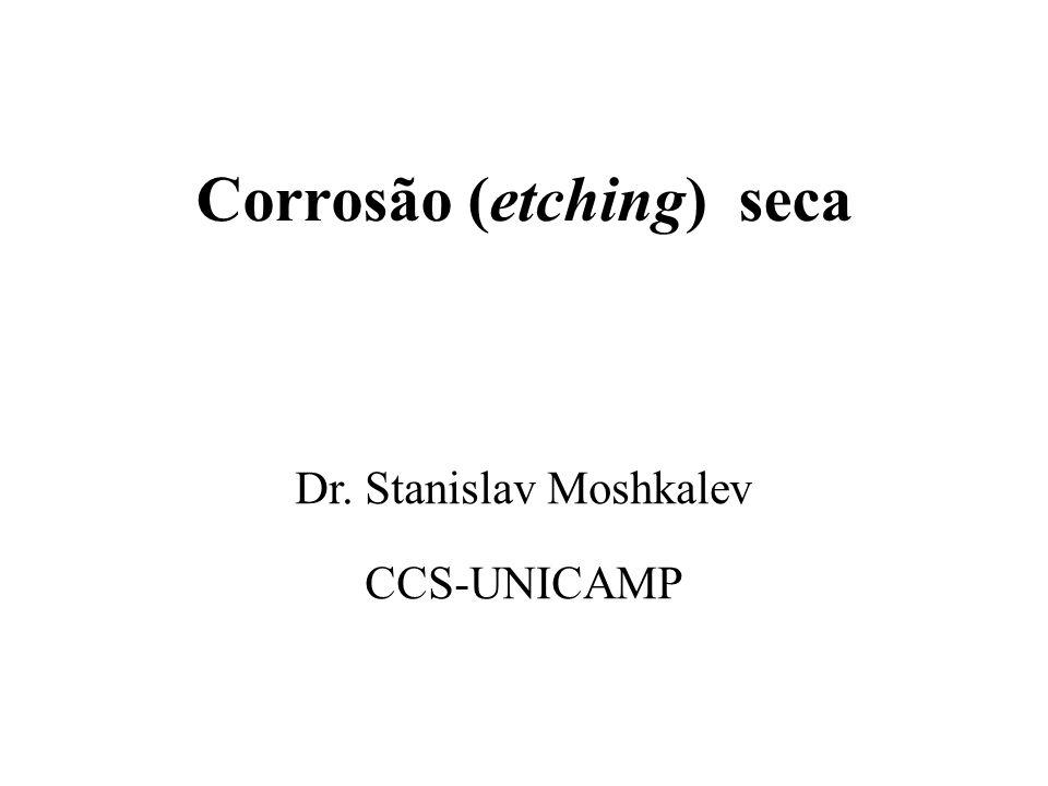Corrosão (etching) seca