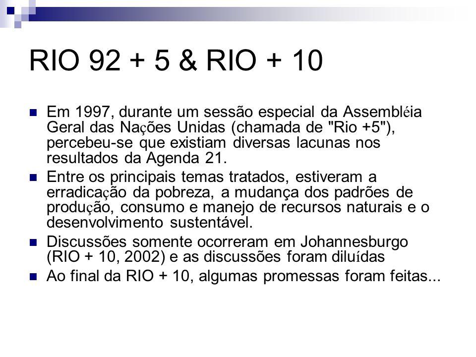 RIO 92 + 5 & RIO + 10