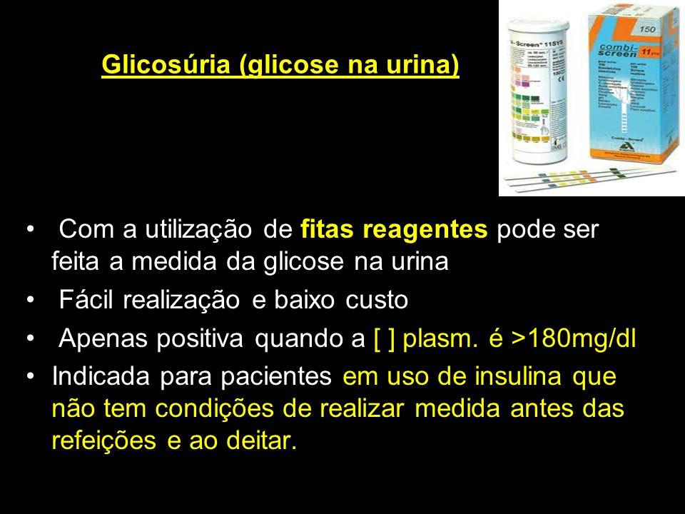 Glicosúria (glicose na urina)