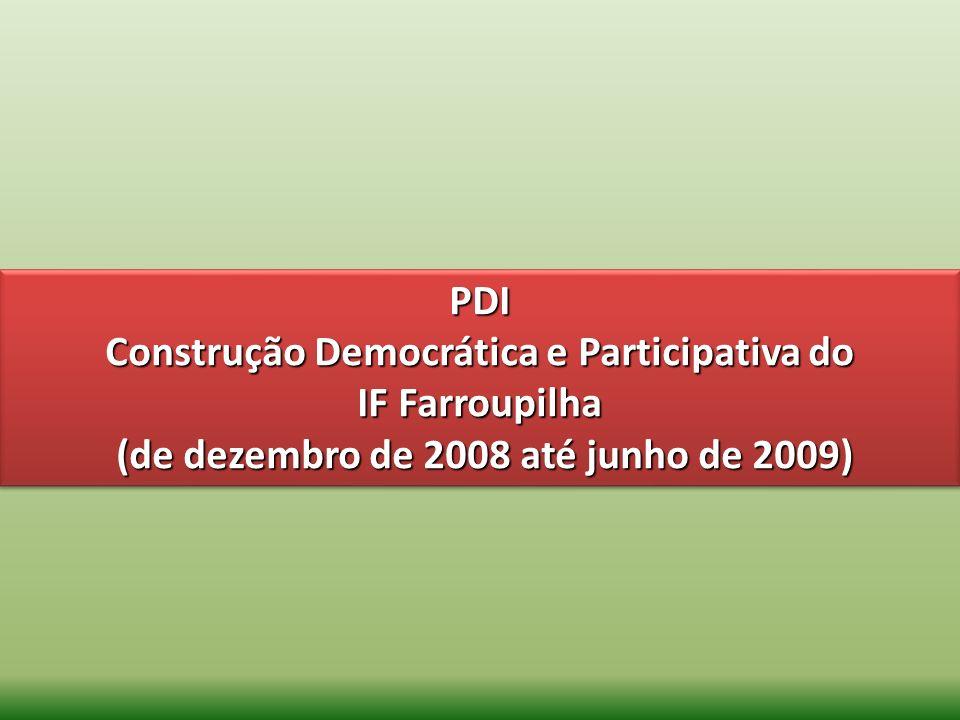 Construção Democrática e Participativa do