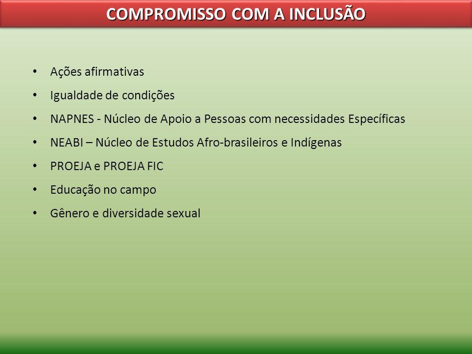COMPROMISSO COM A INCLUSÃO