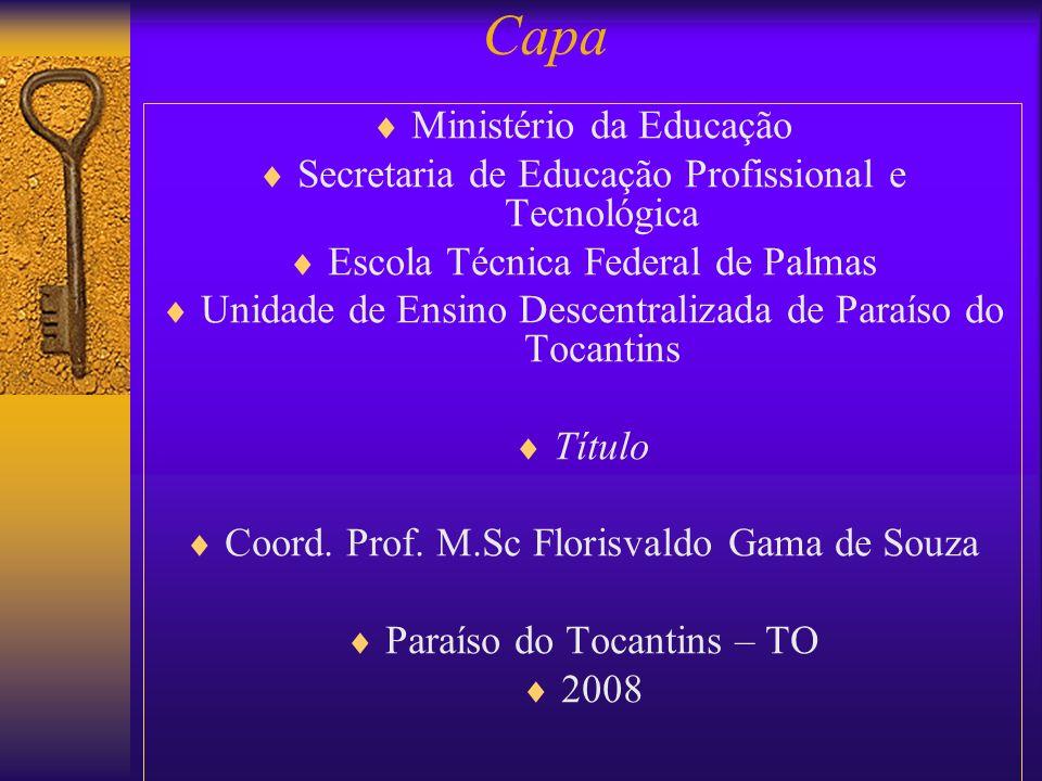 Capa Ministério da Educação