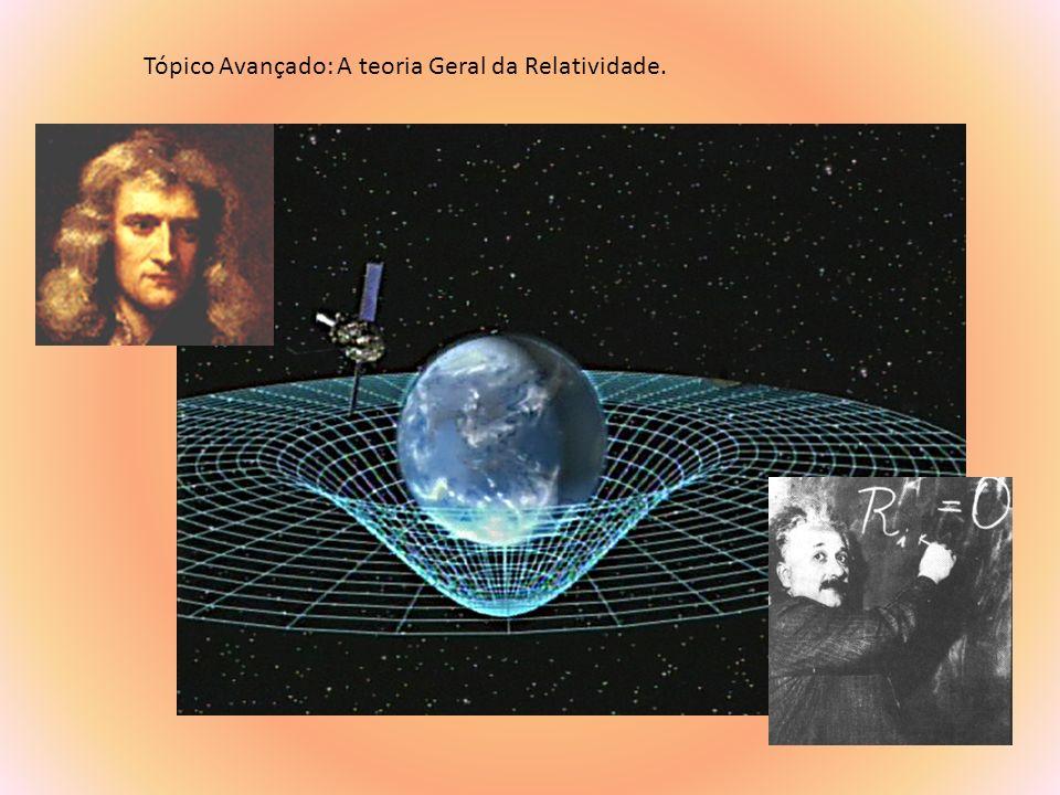 Tópico Avançado: A teoria Geral da Relatividade.
