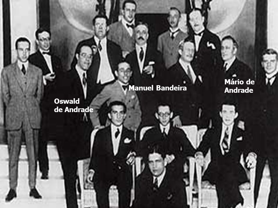 Mário de Andrade Manuel Bandeira Oswald de Andrade