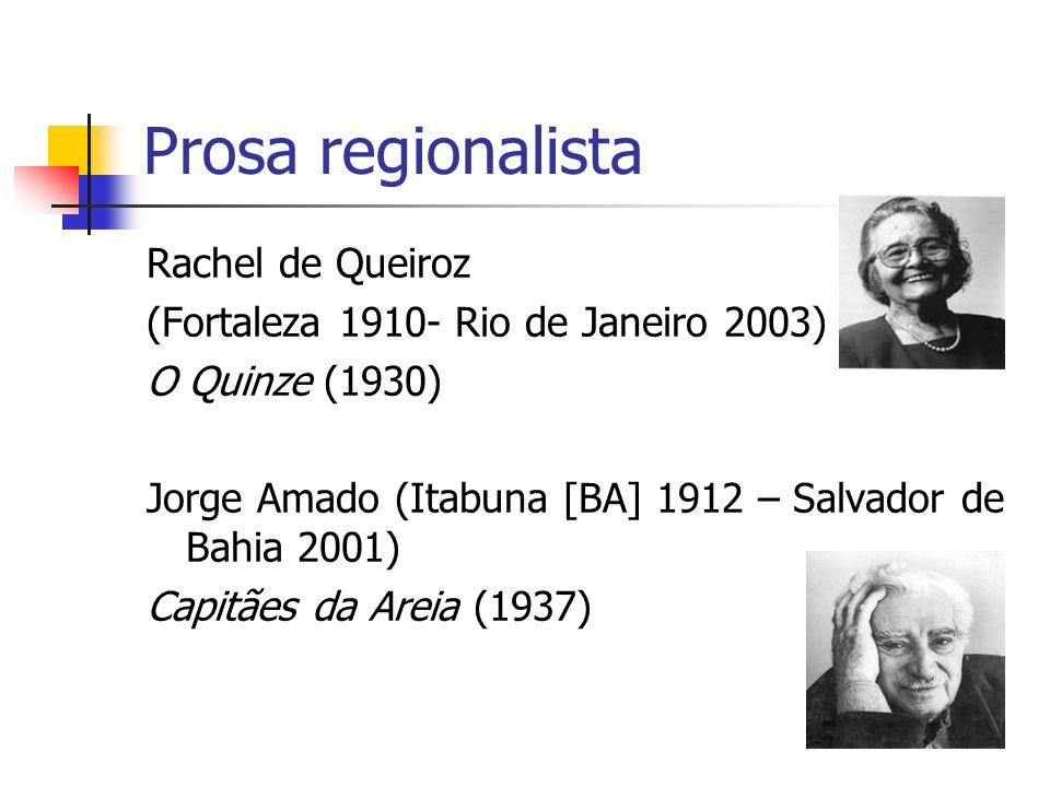 Prosa regionalista Rachel de Queiroz
