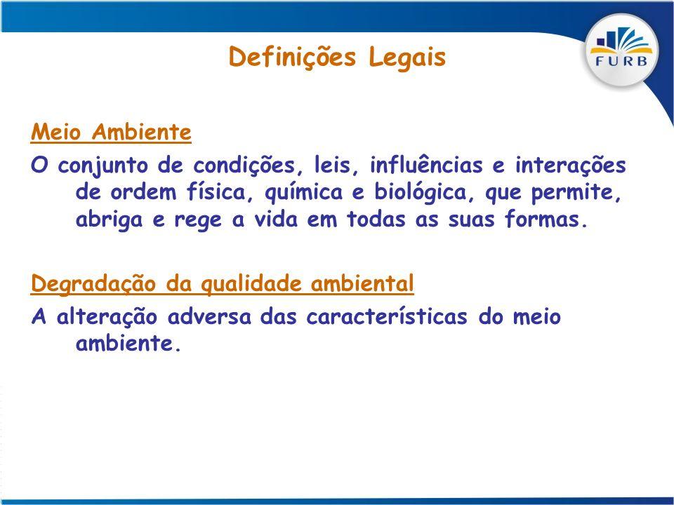 Definições Legais Meio Ambiente