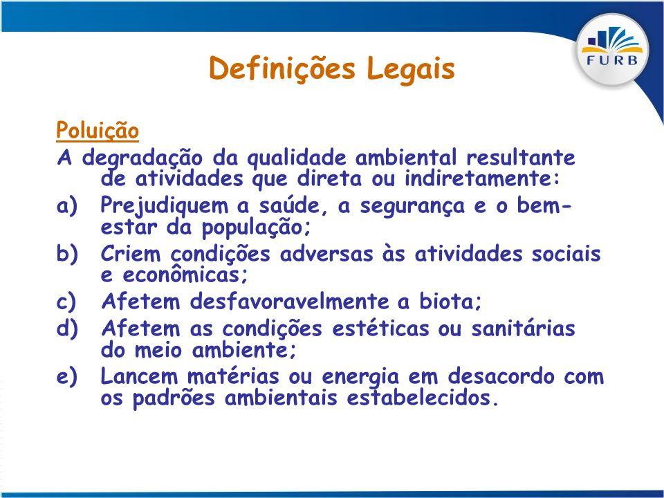 Definições Legais Poluição