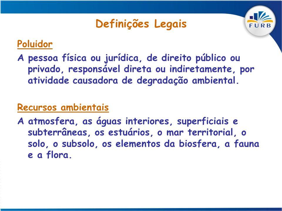 Definições Legais Poluidor