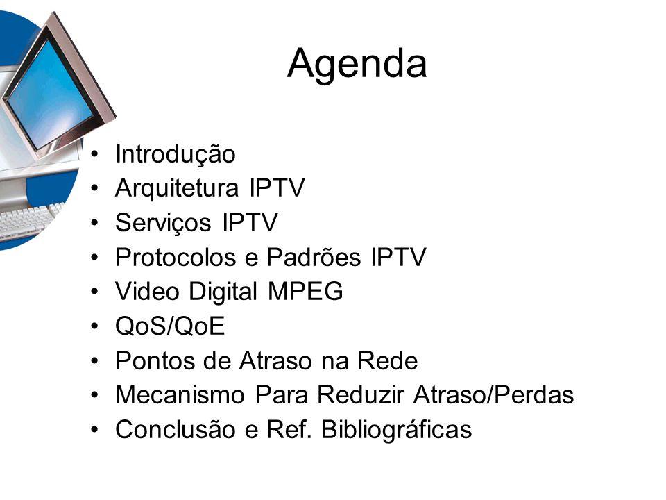 Agenda Introdução Arquitetura IPTV Serviços IPTV