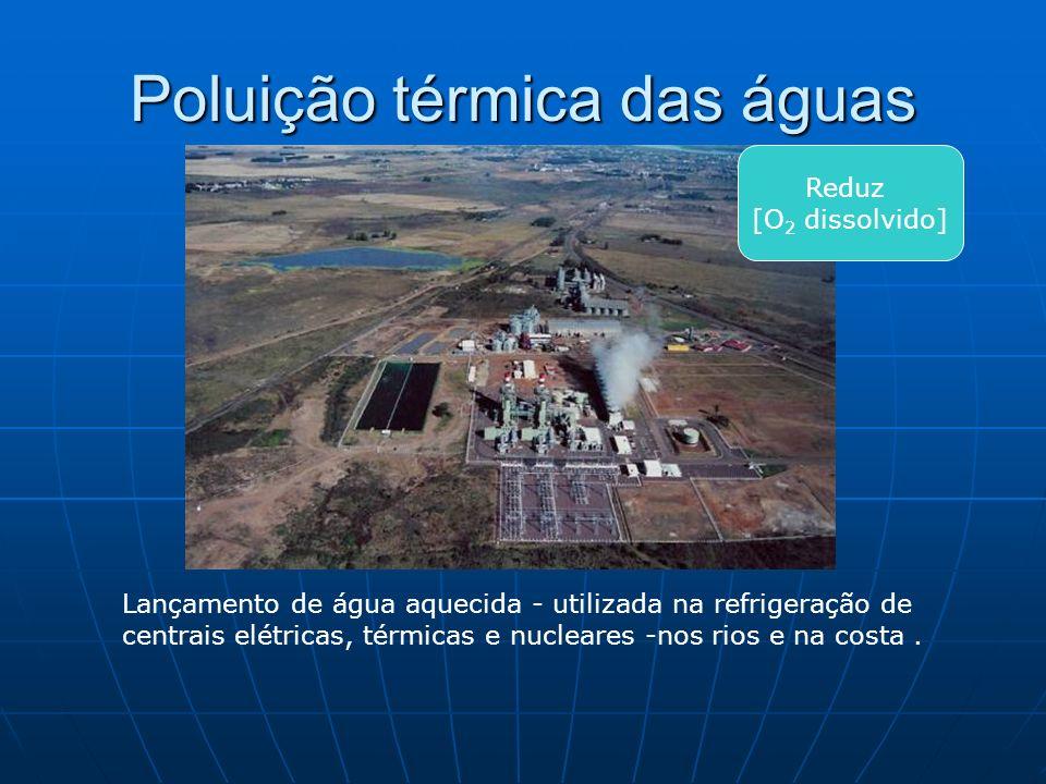 Poluição térmica das águas