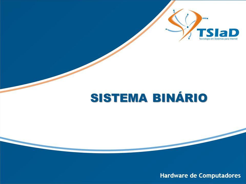 SISTEMA BINÁRIO Hardware de Computadores