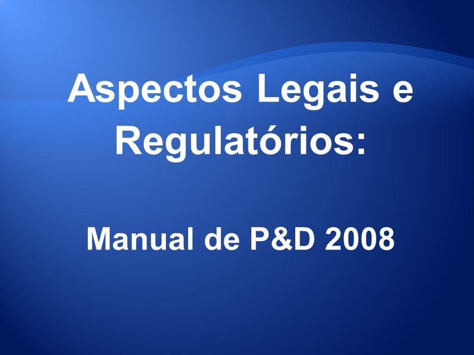 Aspectos Legais e Regulatórios: