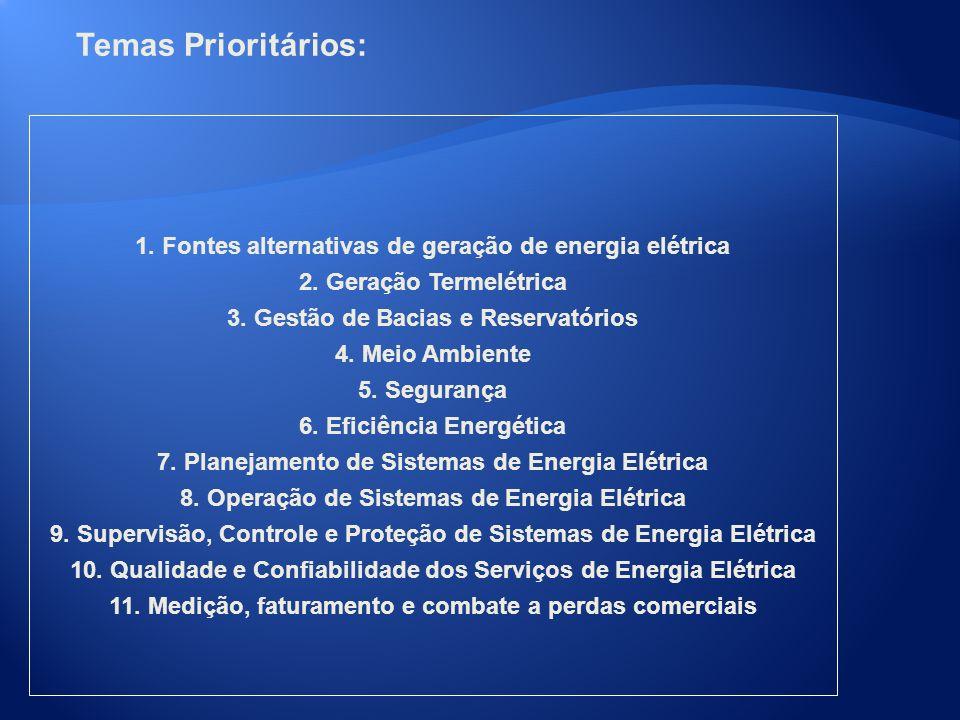 Temas Prioritários: