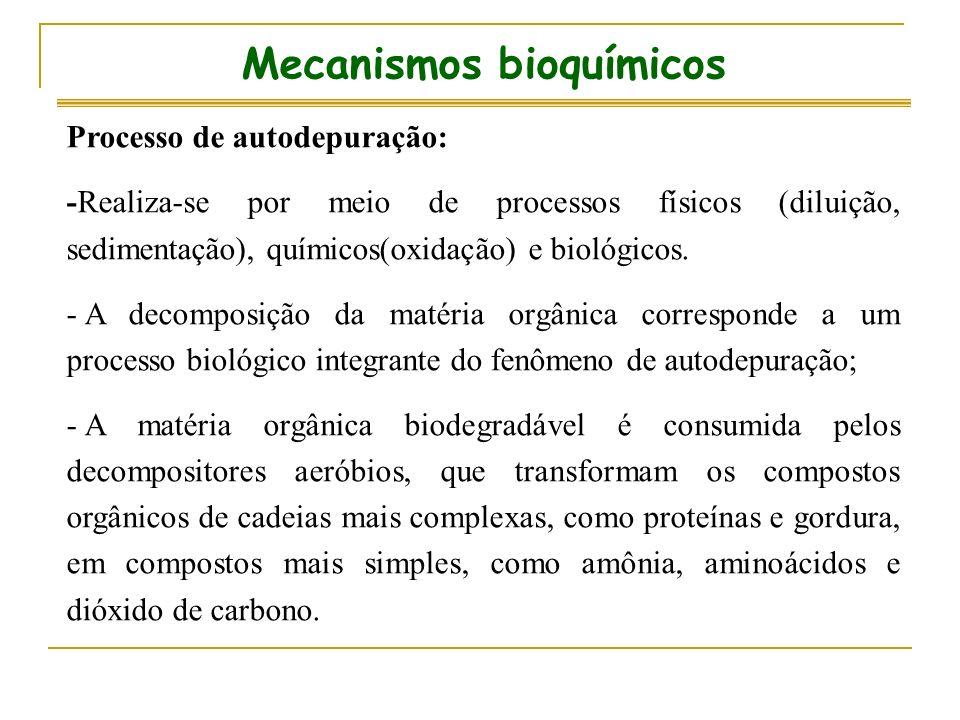 Mecanismos bioquímicos