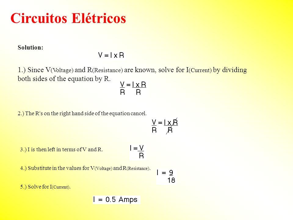 Circuitos Elétricos Solution: