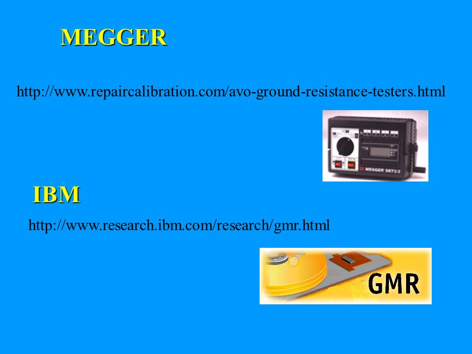 MEGGER http://www.repaircalibration.com/avo-ground-resistance-testers.html.