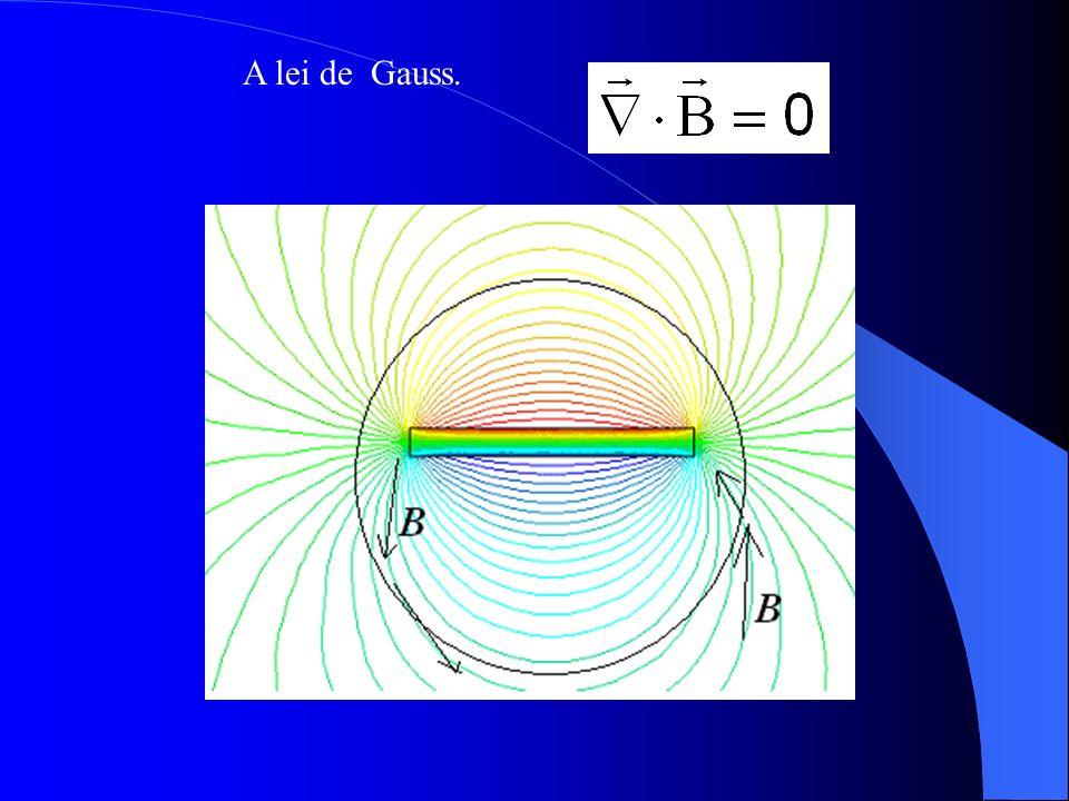 A lei de Gauss.