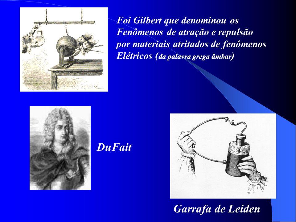 DuFait Garrafa de Leiden Foi Gilbert que denominou os