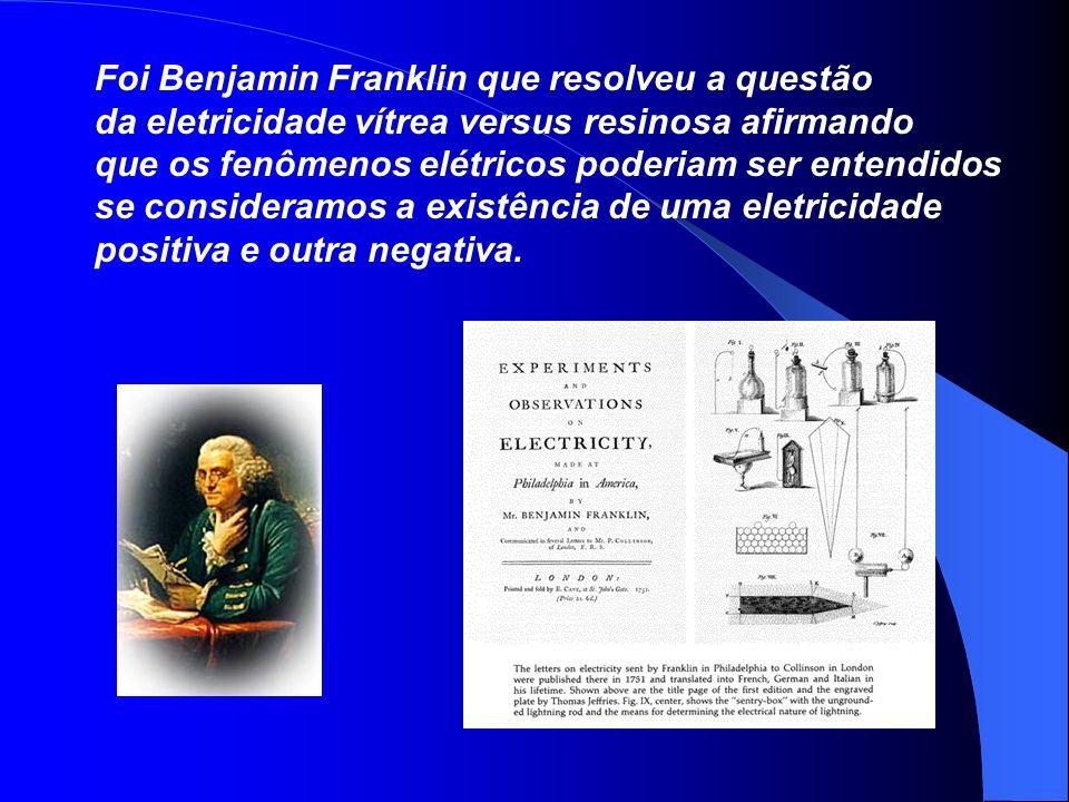 Foi Benjamin Franklin que resolveu a questão