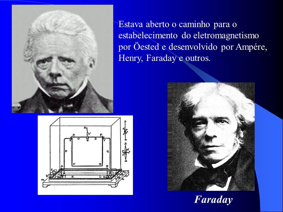 Faraday Estava aberto o caminho para o